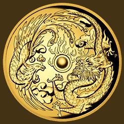 Smocza moneta z itemshopu